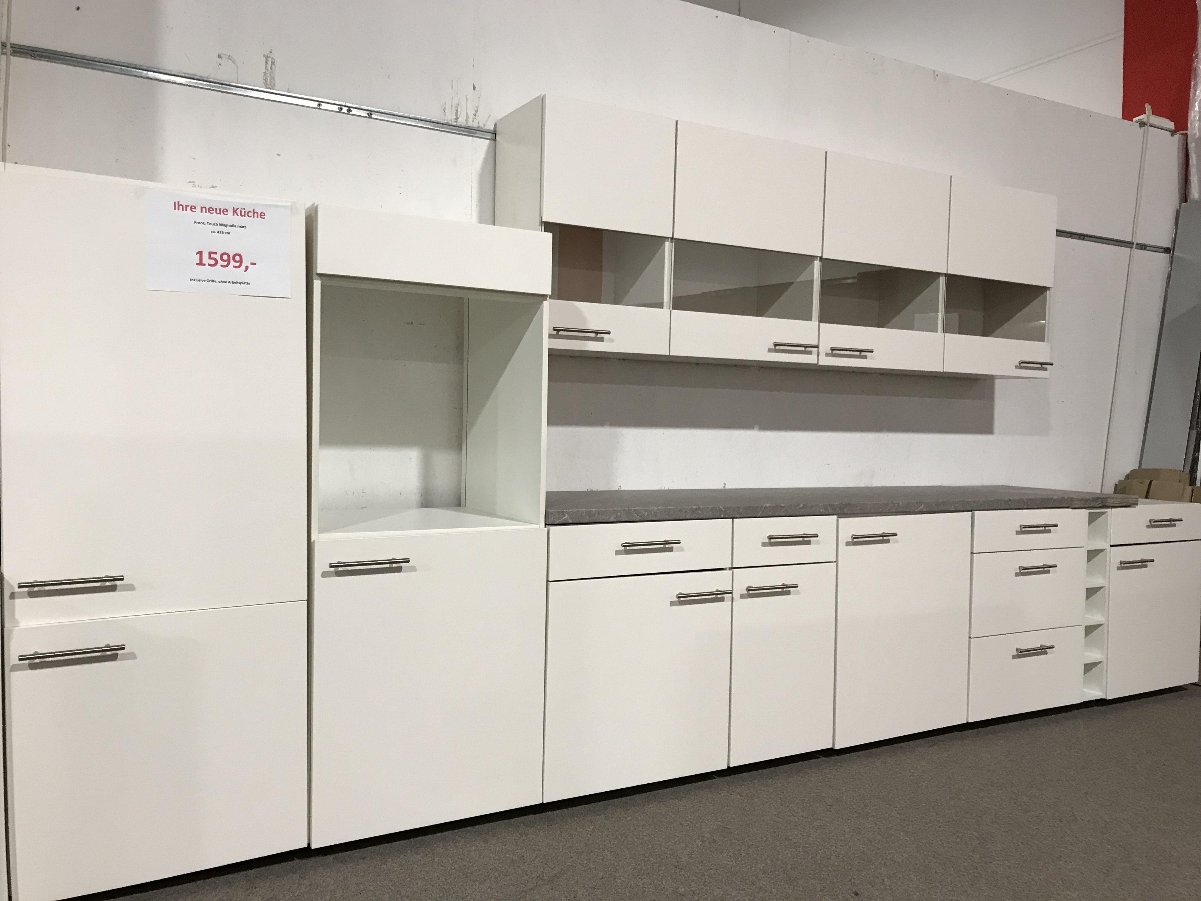 Küche - Neue Moderne Komplettküche - Touch Magnolia Matt -